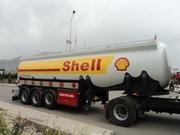Полуприцеп цистерна бензовозы нефтевозы до 45 м3 Турция