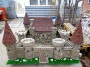 макет средневекового замка