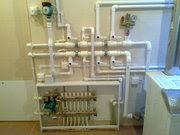 Отопление монтаж систем отопления тёплый пол котельная
