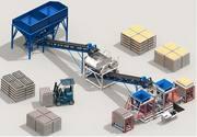 линия для производства блоков К016
