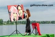 Картина-портрет на заказ в стиле Pop Art Ростов-на-Дону