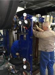 Теплообменники жидкость-жидкость: продажа,  ремонт,  обслуживание