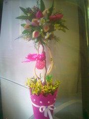 продаю топиарии из цветов,  фруктов,  монет