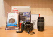 Canon 650D + Kit 18-55 + 75-300 f/4-5.6