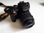 Nikon D3300 Kit 18-55 VR II Black + сумка +  карта памяти