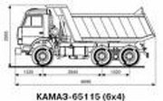 КАМАЗ 65115-050-62.